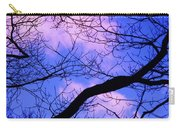 Blue Sky Through The Trees Carry-all Pouch