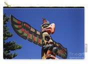 Blue Sky Totem Carry-all Pouch