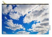 Blue Sky With Cloud Closeup 2 Carry-all Pouch