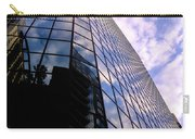 Blue Skyscrapper With A Blue Sky In New Orleans Louisiana Carry-all Pouch