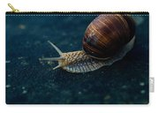 Blue Snail Carry-all Pouch