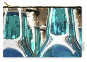 Blue Soda Abstract Carry-all Pouch
