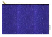 Blue Sparkle Shade Texture Color Tone Pattern Created By Artist Navinjoshi At Fineartamerica.com Ele Carry-all Pouch