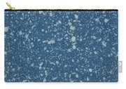 Blue Speckle Carry-all Pouch