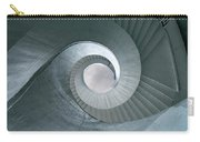 Blue Spiral Stairs Carry-all Pouch