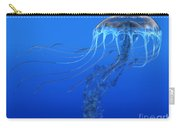 Blue Spotted Jellyfish Carry-all Pouch