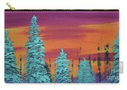 Blue Spruce Sunset Carry-all Pouch