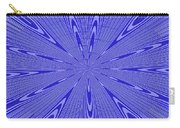 Blue Star Janca Abstract Carry-all Pouch