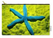 Blue Starfish On Poritirs Carry-all Pouch