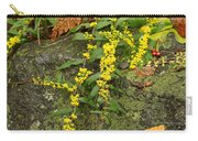 Blue-stemmed Goldenrod - Solidago Caesia Carry-all Pouch