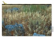 blue stones amongst the olive groves near Iznajar Andalucia Spain Carry-all Pouch