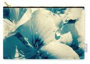 Blue Summer Flower Carry-all Pouch