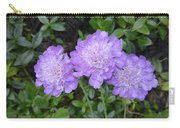 Blue Summer Flowers Carry-all Pouch
