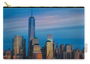 Blue Sunset At The World Trade Center Carry-all Pouch