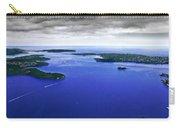 Blue Sydney Harbour Carry-all Pouch
