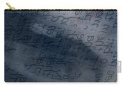 Blue Talk Carry-all Pouch