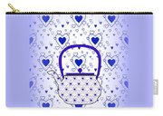 Blue Teapot - Kitchen Carry-all Pouch