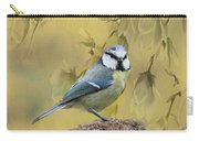 Blue Tit Bird II Carry-all Pouch