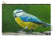 Blue Tit Bird Carry-all Pouch