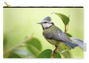 Blue Tit With Caterpillar Carry-all Pouch