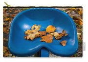 Blue Tractor Seat Carry-all Pouch
