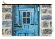 Blue Traditional Door Carry-all Pouch