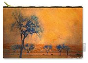 Blue Trees And Dreams Carry-all Pouch