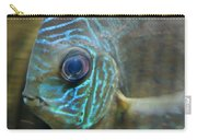 Blue Tropical Fish Carry-all Pouch