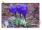 Blue Crocus Carry-all Pouch