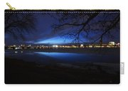 Blue Twilight Over The Charles River Carry-all Pouch