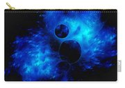 Blue Universe Fractal Carry-all Pouch