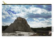 Blue Uxmal Carry-all Pouch