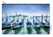 Blue Venice Carry-all Pouch