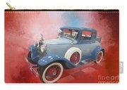 Blue Vintage Car Carry-all Pouch