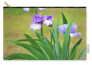 Blue Violet Irises  Carry-all Pouch