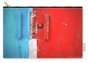 Blue Wall Red Door Carry-all Pouch
