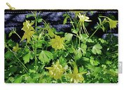 Blue Wall Yellow Columbine Carry-all Pouch