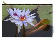 Blue Water Lilies Of Belize Carry-all Pouch
