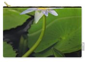 Blue Water Lily Carry-all Pouch