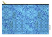 Blue Water Patchwork Carry-all Pouch