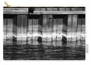 Blue Water Retaining Wall 4 Bw Carry-all Pouch
