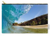 Blue Wave - Makena Beach Carry-all Pouch