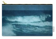 Blue Waves - Jersey Shore Carry-all Pouch by Angie Tirado