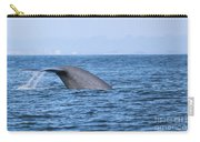 Blue Whale Tail Flop Carry-all Pouch