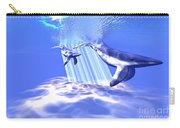Blue Whales Carry-all Pouch