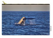 Blue Whales Tail Carry-all Pouch