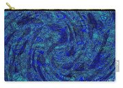 Blue Whirl Wind In The Sky Carry-all Pouch