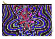 Blue White And Red Abstract #2944e2c Carry-all Pouch