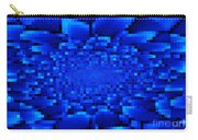 Blue Windows Abstract Carry-all Pouch
