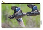 Blue-winged Teal In Flight 3 Carry-all Pouch